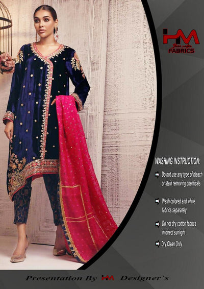 Sana Abbas Exclusive Velvet Formal Collection