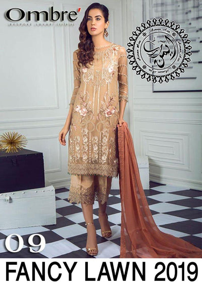 Ombar Lawn Bridal  Collection 2019 New Design