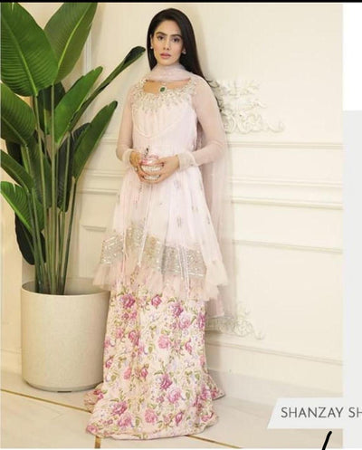 Sana Safinaz Net Bridal Dress Collcetion 2020
