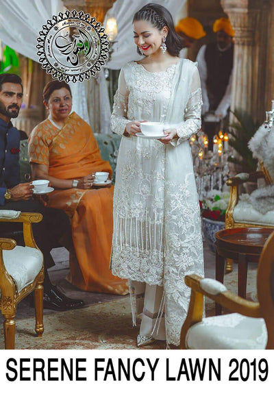 Serene Lawn Bridal  Collection 2019 New Design