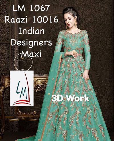 Indian Designers Maxi Net Bridal  Collection 2020 New Design