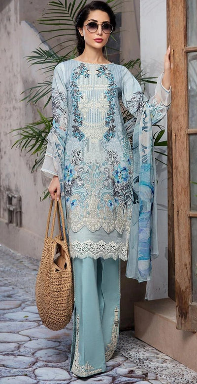 Firdous Cotton With Lawn Dupatta