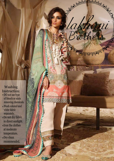 Sana Safinaz full silk digital print new collection 2k19