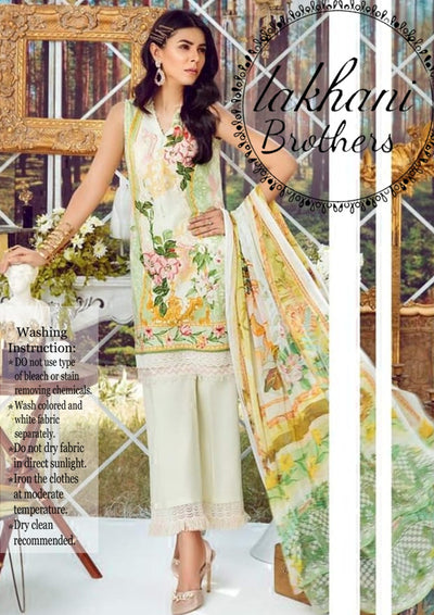 Asifa Nabeel full silk digital print new collection 2k19