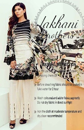 Firdous full silk digital print new collection 2k19