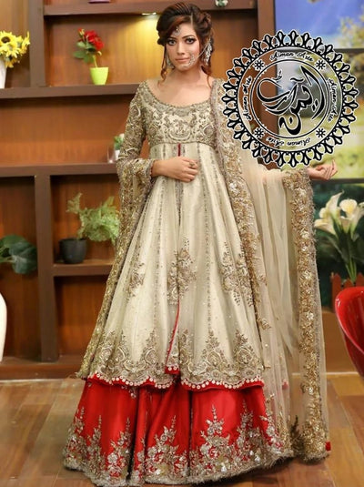 Maria B Net Embroidery Suit Net Embroidery Dupatta