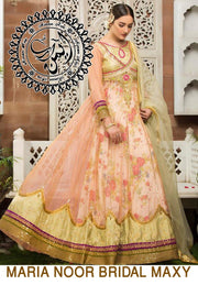 Nomi Ansari Bridal Maxi  Embroidery Suit Net Embroidery Dupatta