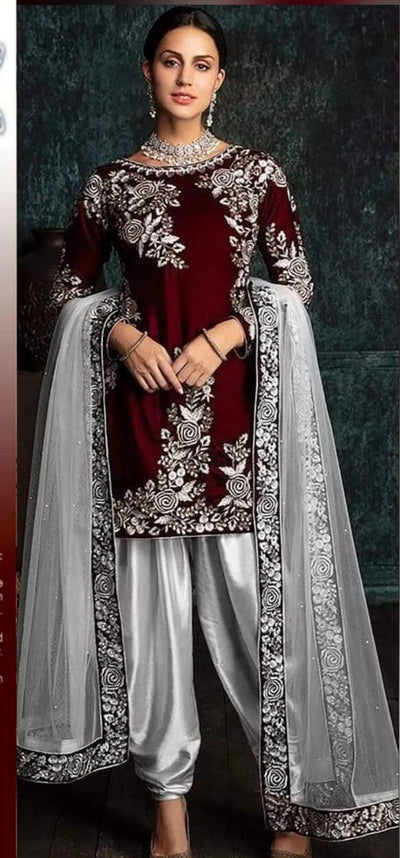 Zainab Chuttani Velvet Collection 2020 Wedding Dresses
