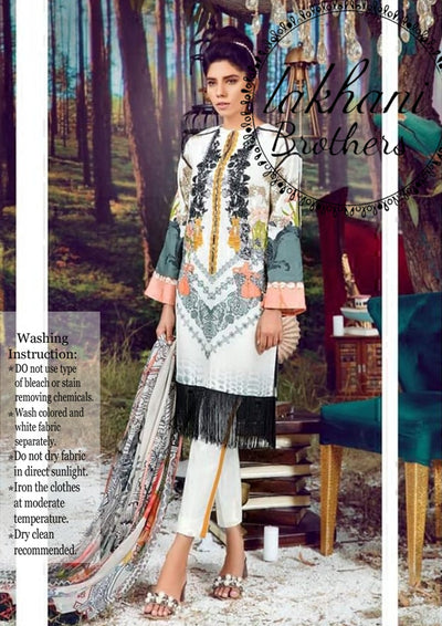 Firdous silk digital print new collection 2k19