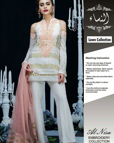 Zainab Chottani Lawn Collection (Replica)(Unstitched)