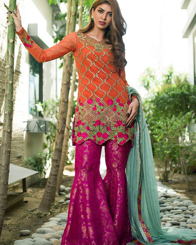 ZAINAB CHOTTANI LUXURY PRET COLLECTION (Replica)(Unstitched)