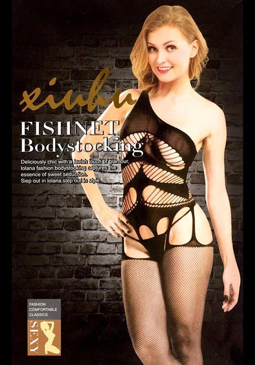 Body Stocking Fishnet Dress - Ladies Sexy Net Dresses - SN105 - Body Stocking - diKHAWA Online Shopping in Pakistan
