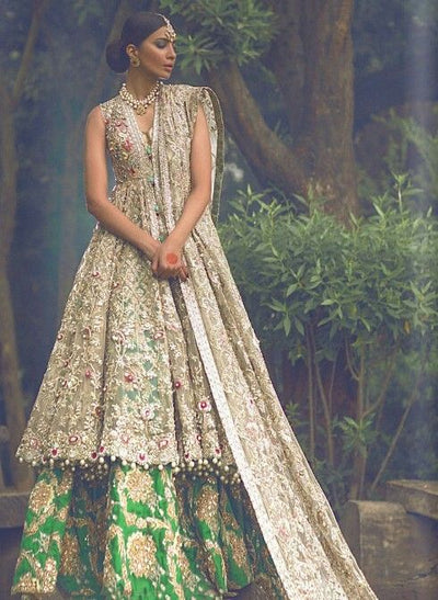 Elan Chiffon Dresses - Embroidered Chiffon Dupatta - Replica - Unstitched