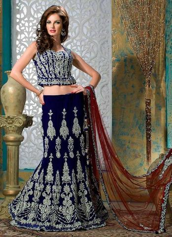 INDIAN BRIDAL MAXI (Replica) (Unstitched)