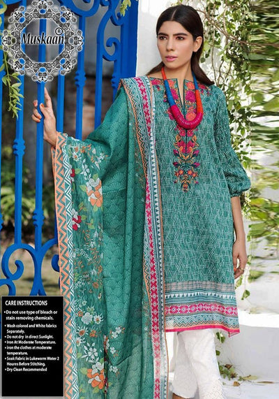 Khaadi Lawn Collection Lawn Dupatta - Replica - Unstitched