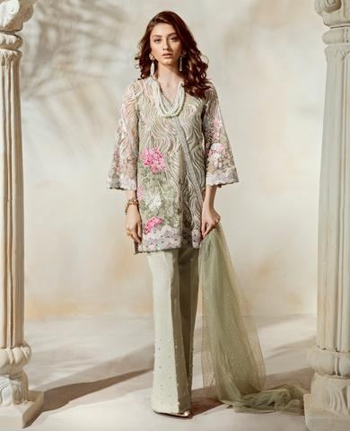 Paki Bridal Dresses  (Replica)(Unstitched)