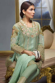 GUL AHMED CHIFFON SUIT (Replica) (Unstitched)