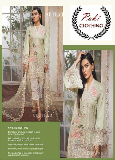 Anaya by Kiran Chaudhry Luxury Lawn Collection - Replica - Unstitched
