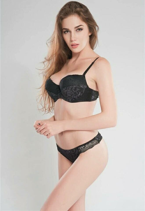 Buy Sexy Magic 1603 Pushup Bra Panty Set Black- Double Padded Underwired Bra Panty Set Online in Karachi, Lahore, Islamabad, Pakistan, Rs.{{amount_no_decimals}}, Ladies Bra Panty Sets Online Shopping in Pakistan, Sexy Magic, best bra brands in pakistan, best undergarments Brands in pakistan, Bra, bra online shopping, bra online shopping in pakistan, Bra Pakistan, Bra Panty Sets, Bra Shop, bra.com, bra.com.pk, bra.pk, branded bra, branded undergarments, Bridal Bra, Bridal Bra Panty Sets, bridal undergarments, cf-color-black, cf-size-32a, cf-size-32c, cf-size-32d, cf-type-ladies-bra-panty-sets, cf-vendor-sexy-magic, Classic Bra, Clothing, double padded bra, Everyday Bra, Fancy Bra, Full Cup Bra, Imported Bra, ladies b, Online Shopping in Pakistan - diKHAWA Fashion