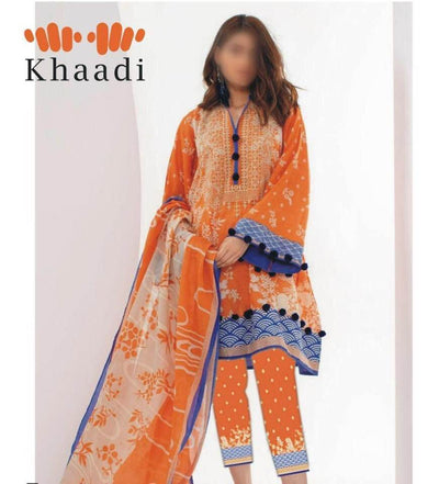 Khaddi Lawn Dupatta Now Available Front Lawn Printed - Replica - Unstitched