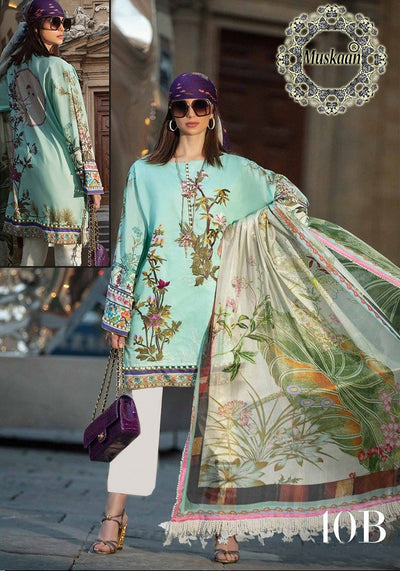 Sana Safinaz Fabric Lawn Collection - Replica - Unstitched