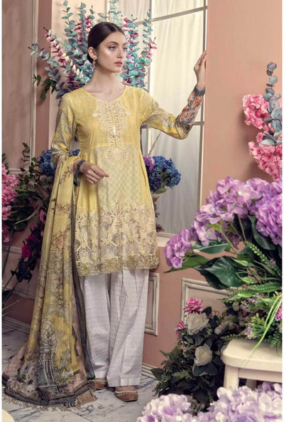 Aayra Now Available Fabric Of Shirt Is Printed Lawn - Replica - Unstitched