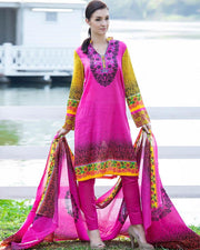 Jhalak Lawn Suits 3 Piece - 1803-D (Original)(Unstitched)