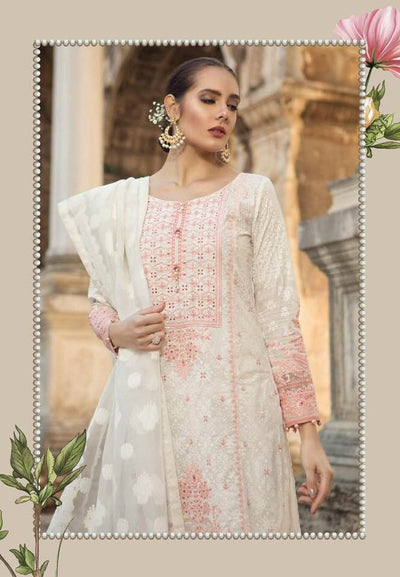 Maria B Now Available Fabric Of Shirt Is Printed Lawn - Replica - Unstitched
