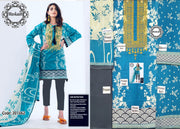 Khaadi Collection Shirt and Dupatta Lawn Trouser Cambric Cotton - Replica - Unstitched