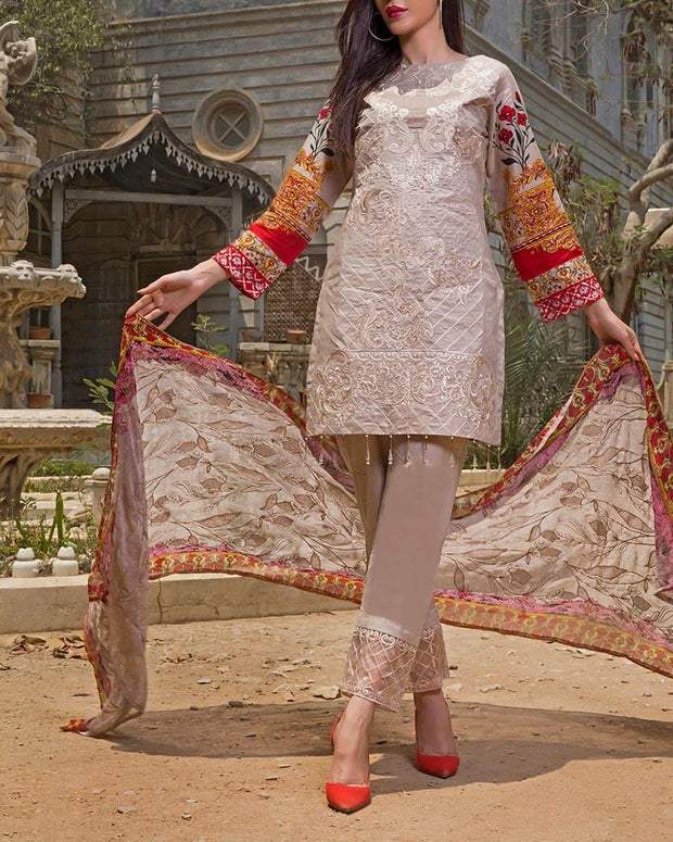 FAUSTINA EXCLUSIVE LAWN BY SALITEX (Replica)(Unstitched)