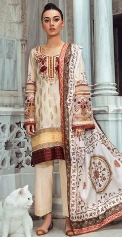 TENA DURRANI LAWN SUIT _ Replica _ Unstitched,