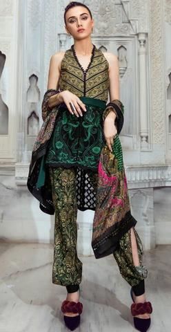 TENA DURRANI LAWN SUIT (Replica) (Unstitched)