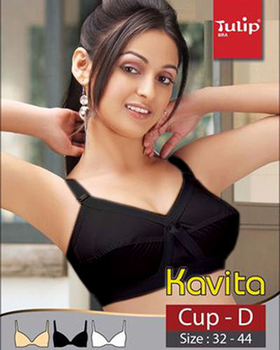 Kavita Bra - Tulip Bra - Basic Cotton Bra - Non Padded Non Wired Bra