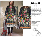 Khaadi Fabric Shirt Lawn Dupatta Chiffon - Replica - Unstitched