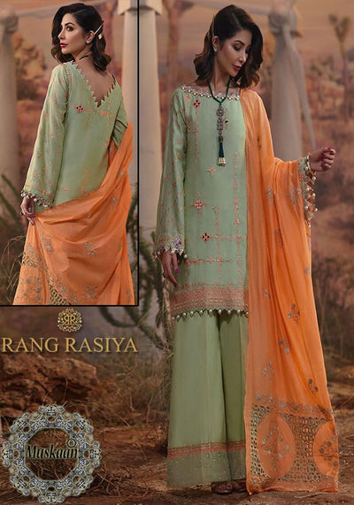Rangrasiya Fabric Lawn Collection - Replica - Unstitched