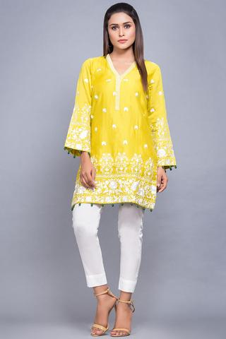 Iqra Aziz By AL KARAM COTTON SUIT (Replica)(Unstitched)