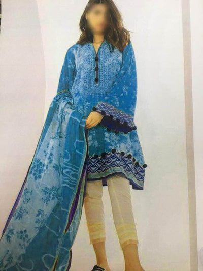 Khaadi Lawn Embroidered Collection - Replica - Unstitched
