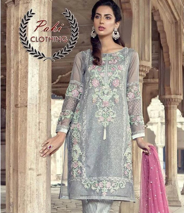 Maria B New Summer Collection Fabric Lawn - Replica - Unstitched