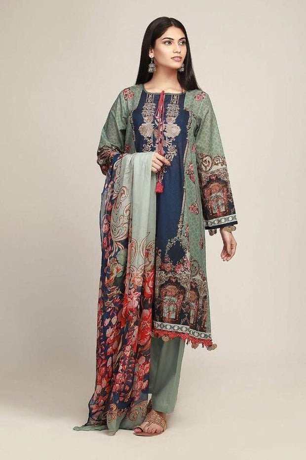 Khaadi Now Available Fabric Lawn - Replica - Unstitched