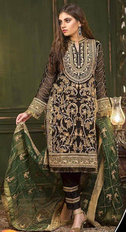 Ladies Replica Suit Online Shopping in Pakistan. For Rs. Rs.4125.00, ID - ZM1906190515TVFX, Brand = Yumyas, Yumyas Collection Fabric Chiffon Dupatta Chiffon Trouser Malai Zari Handwork Sequence - Replica - Unstitched in Karachi, Lahore, Islamabad, Pakistan, Online Shopping in Pakistan, Style_2019, Style_2020, Style_3Pcs Suits, Style_Autumn, Style_Basic, Style_Bridal, Style_Bridal Dresses, Style_Casual, Style_Chiffon Dresses, Style_Chiffon Suits, Style_Eid, Style_Eid Collection, Style_Embroidered, Style_Embroidered Dresses, Style_Engagement Dresses, Style_Everyday, Style_Exclusive Dresses, Style_Fancy, Style_Floral, Style_Formal, Style_Luxury Collection, Style_Made in Pakistan, Style_Master Copy, Style_Mayon Ceremony, Style_Mayon Dresses, Style_Mehandi Dresses, Style_Milad Dres, diKHAWA Fashion - 2020 Online Shopping in Pakistan