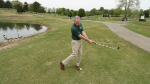 Weight must be on the front foot during your downswing prior to the ball strike for optimum results