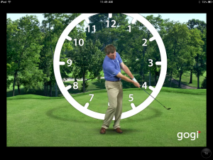 The 9 to 3 Golf Swing is great for senior golfers