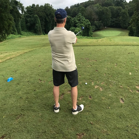 Stand Behind the Golf Ball and Visualize Ball Flight