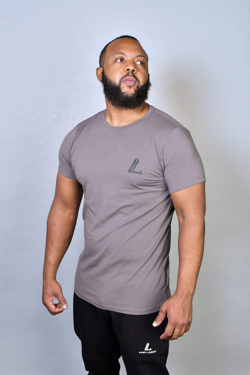IL SIGNATURE PERFORMANCE T-SHIRT - CHARCOAL