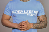 LINE PERFORMANCE T-SHIRT - LIGHT BLUE