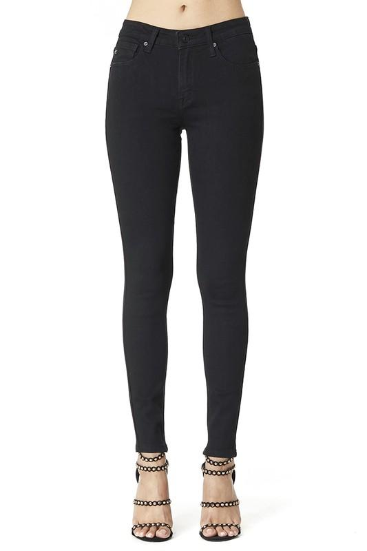 Black Kancan Non Distressed Jeans