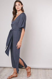 Brunchin' Belted Jumpsuit
