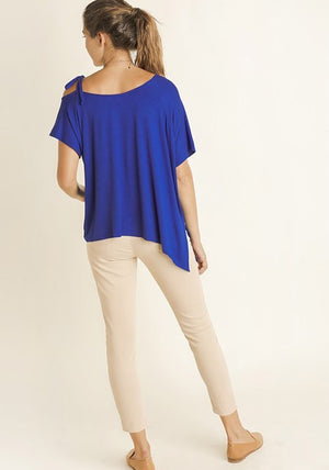 Royal Blue Weekend Ready Top