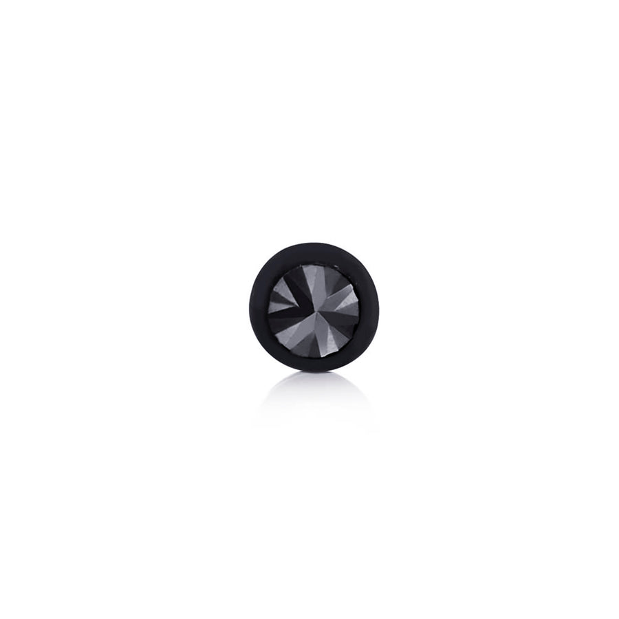 Genuine Black Diamond Bezel Set Stud Weighing 0.04 Carat - Chillatto