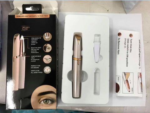 Mini Eyebrow Trimmer - Package Content